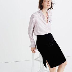 HOST PICK 🎉🎉 Madewell Velvet Pencil Skirt